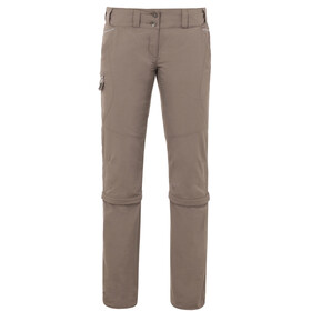 VAUDE Skomer Spodnie długie Kobiety brązowy